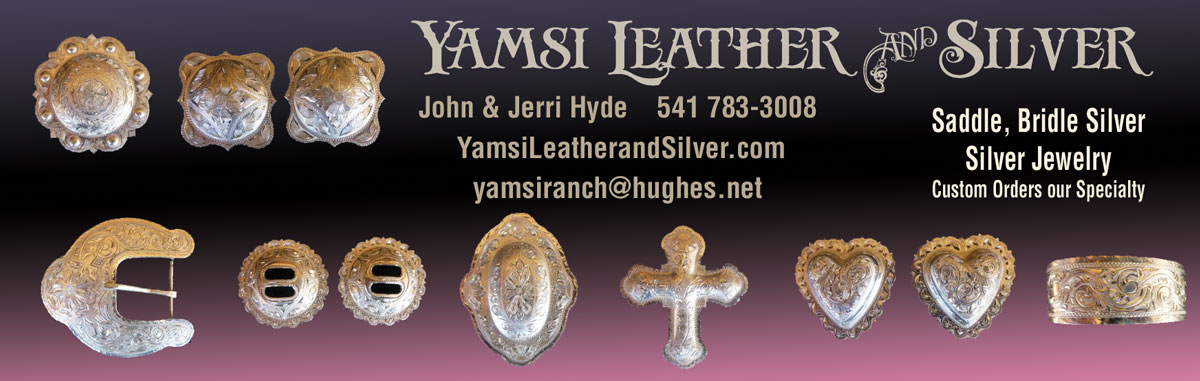 Yamsi Leather and Silver